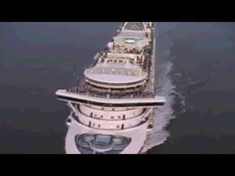 Outstanding Grand Princess Hawaii Cruise Leaving Port of San Francisco October 29, 2017
