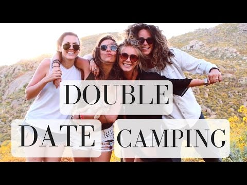 DOUBLE  DATE CAMPING (ft THIS COLORFUL WORLD) Angelis & Nina