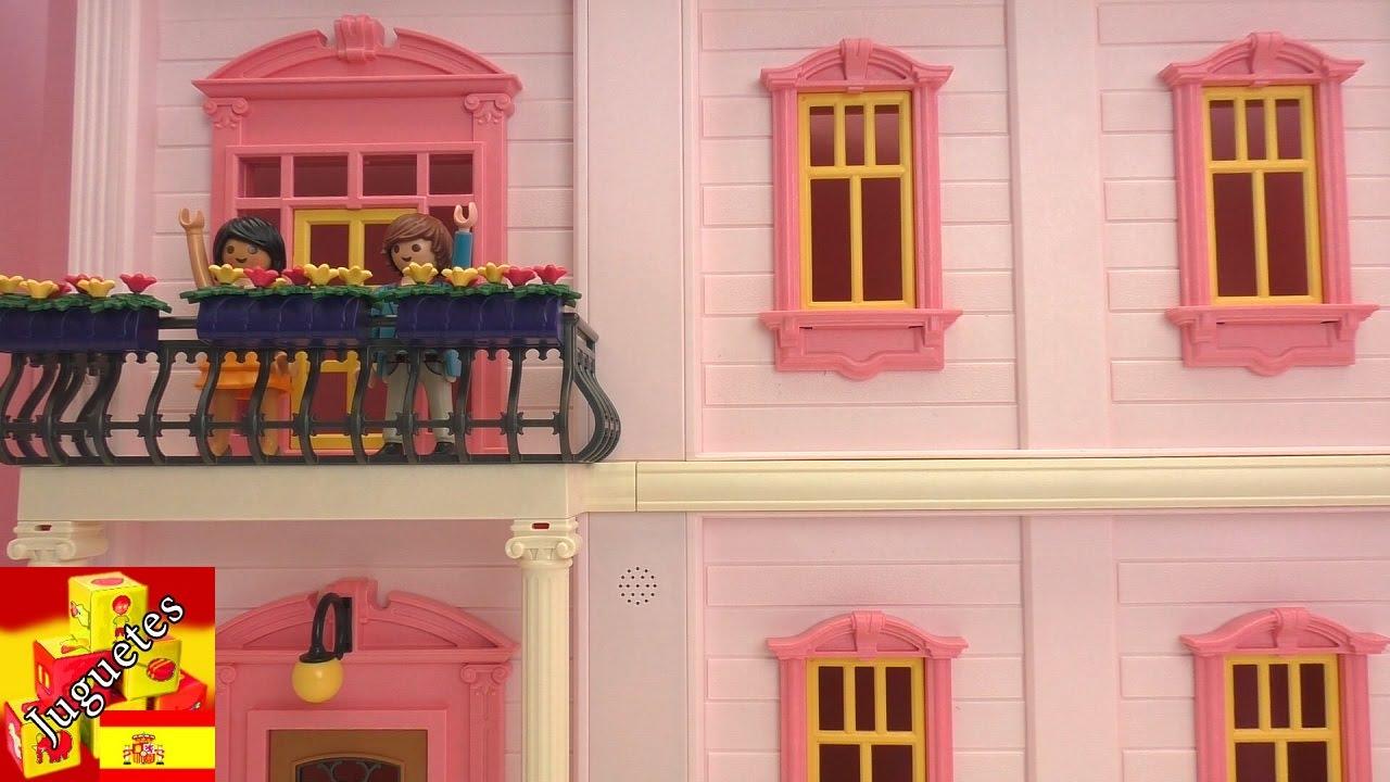 Decoremos la casa rom ntica de playmobil youtube for La casa de playmobil