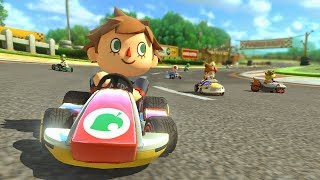 Mario Kart 8 Deluxe - Playing as Boy Villager