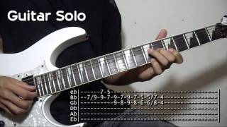 Honestly (Acoustic) Harem Scarem Intro  + Guitar Solo Tutorial Lesson (WITH TABS)