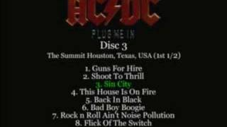 AC/DC - Sin City Live 1983