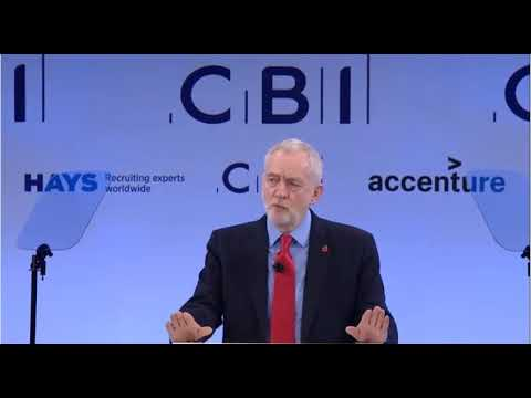 Jeremy Corbyn's speech to the CBI 2017 conference