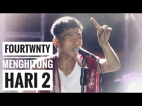 FOURTWNTY - MENGHITUNG HARI 2 | Anda Cover | Live From Authenticity Fest - Palembang