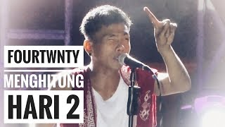 FOURTWNTY - MENGHITUNG HARI 2 (with lyric) | Anda Cover | Live From Authenticity Fest - Palembang
