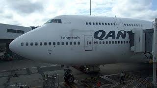 Flight Review Qantas First Class B747-400 Haneda Tokyo to Sydney