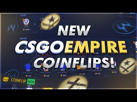CSGO-Empire Coinflip!? Withdraw Skins!!