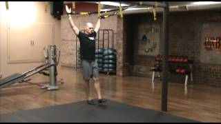trx exercises squat progression step 7 single leg overhead