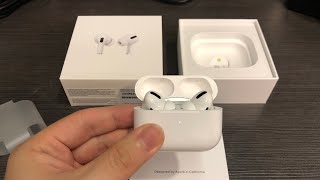 Apple AirPods Pro with Wireless Charging Case Unboxing