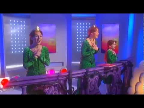 Kimberley Walsh - I Know It's Today - Shrek: The Musical (This Morning - 06.01.2012)