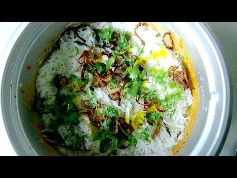 Chicken Dum Biryani Cooking By Hyderabadi Bachelor's | Hyderabad Biryani | Bachelor's Biryani