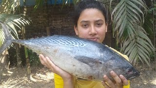 Tuna Fish Curry Recipe | Village Style Fish Recipes | Cooking By Street Village Food