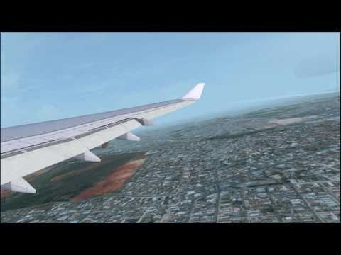 FSX A340-300 Tap Portugal Sao Paulo - Lisbon
