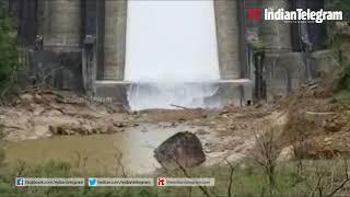 Shutter Open At Idukki's Cheruthoni Dam