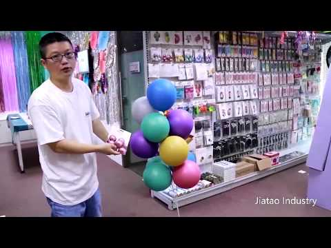 Party supplies Showroom tour