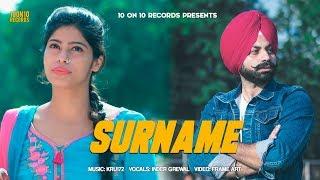 Surname Inder Grewal Free MP3 Song Download 320 Kbps
