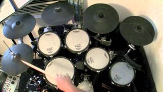 No One To Depend On - Santana (Drum Cover) drumless track used