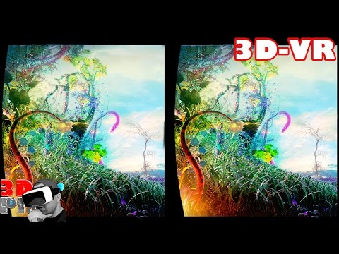3D Extreme Magic World Compilation  3D Side by Side SBS VR Active Passive