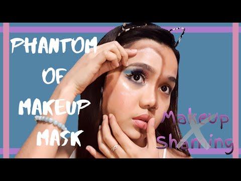 PHANTOM OF MAKEUP MASK | MASK ILLUSION MAKEUP | inspired by NIKKIETUTORIALS | NO TO MAKEUP SHAMING thumbnail