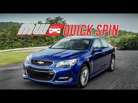 2017 Chevrolet SS Sedan | Quick Spin