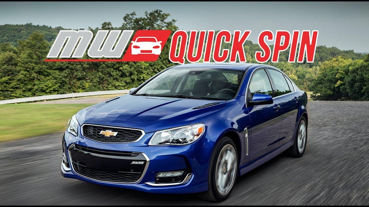 2017 Chevrolet Ss Sedan Quick Spin