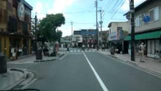 ゲゲゲの女房で有名になった 鳥取県境港市にある 水木しげるロードを走行!