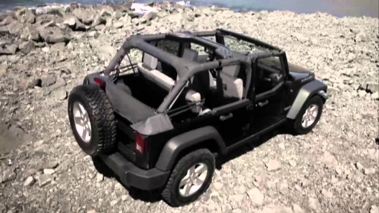 2016 jeep wrangler sunrider soft top four door models youtube. Black Bedroom Furniture Sets. Home Design Ideas