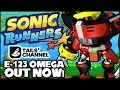 E-123 Omega Is Available Now in Sonic Runners! (Apple iOS & Android)