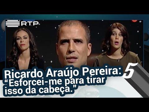 Pressão no Ar: Ricardo Araújo Pereira | 5 Para a Meia-Noite | RTP