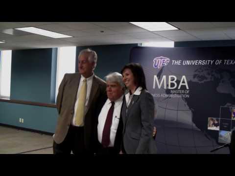 UTEP Graduate Business Center Grand Opening