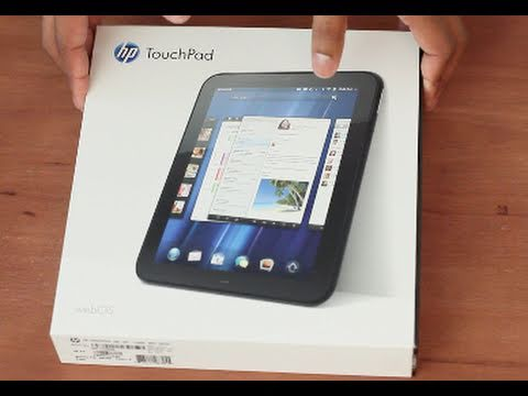 Unboxing: New HP TouchPad Tablet