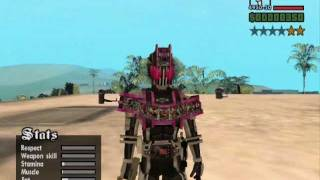 GTA SA Kamen Rider+ Download Link & Cara Install
