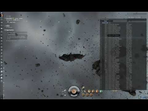 "Eve Online: Mining ship test ""Skiff"""