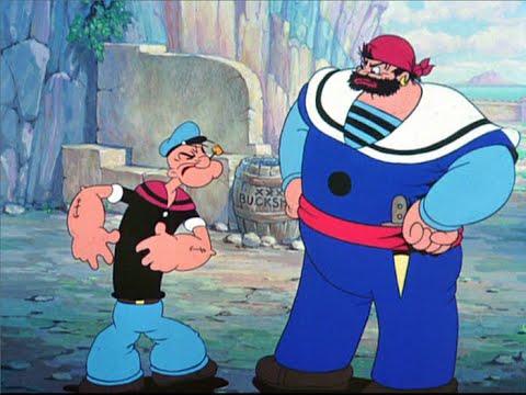 Phim hoạt hình [Thủy thủ Popeye] Tập Popeye Gặp Thủy Thủ Sinbad