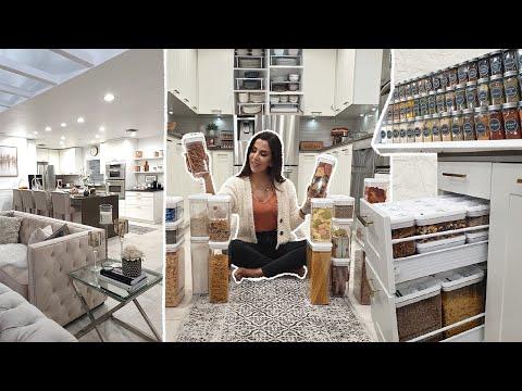 Dans Ma Cuisine | ORGANISATION ⭐ RANGEMENT 🌟 IDÉES DECO 🌟 Cuisine IKEA🌟جولة في مطبخي