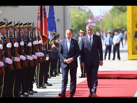 Presidenti Hashim Thaçi pret presidentin e Shqipërisë Bujar Nishani