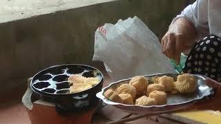 Bánh Bông Lan Bà Mười - Nướng Bánh Bông Lan Bằng Lò Than