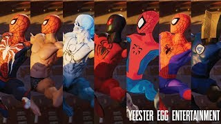 "Marvel's Spider-Man: 40 Suits in ""Something Old, Something New"" Cinematic 1080p60fps"