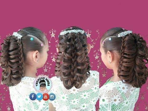 Peinado Para Niñas Elegante Trenza Mariposa En Coleta Facil Y Bonitotrenzas Nmba