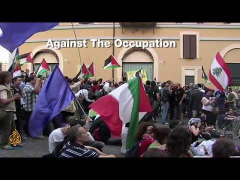 Palestine Remix - Italian Protests vs. Israel