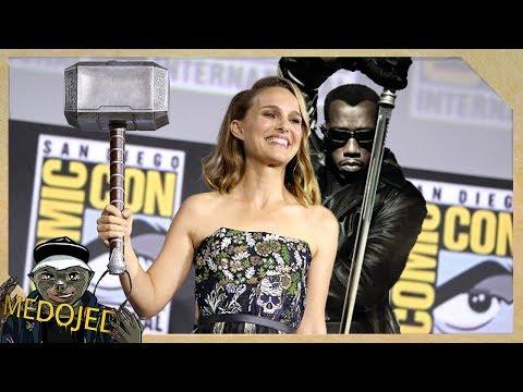 Natalie Portman Bude Thor | Blade Se Vrací Do MCU A Další Marvel Novinky