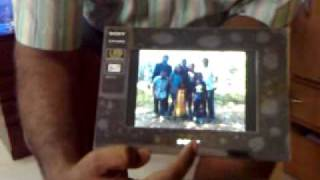 Sony Dpf A710 Digital Photo Frame Review