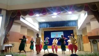 Cultural performance by NCC Cadet During CATC Camp,College of Agriculture IGKV Raipur (C.G.)