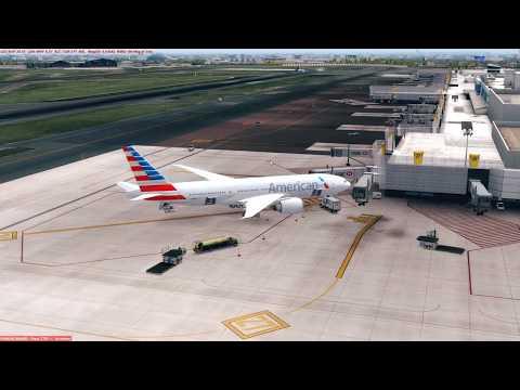 [PREPAR3D] Flight Boeing 777-200LR American - MMMX (Mexico City) - MHTG (Honduras)