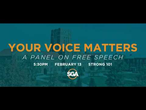Your Voice Matters: A Panel Discussion