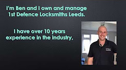 1st Defence Locksmiths Leeds Video