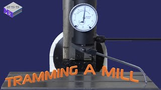 Tramming a Milling Machine with a Rotary Dial Indicator