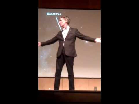 Bill Nye the Science Guy @Stony Brook University 4/19/2013