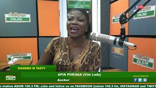 MIDDAY NEWS KASIEBO IS TASTY ON ADOM FM (17-7-19)