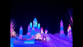 Parque de hielo deslumbra en China